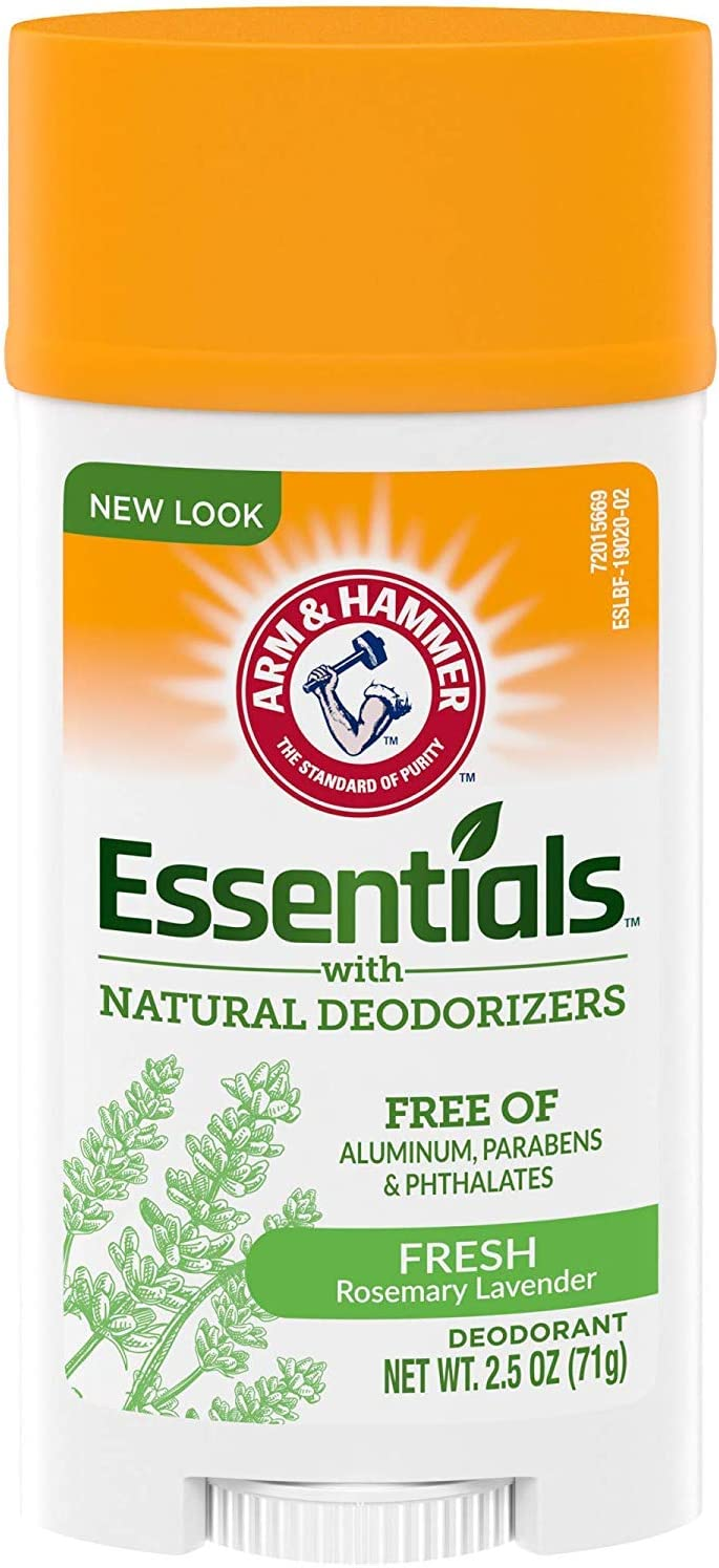 Arm & Hammer Deodorant 2.5oz Essentials Fresh (Pack of 3)