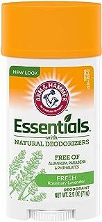 product image for Arm & Hammer Essentials Natural Deodorant, Fresh - 2.5 oz - 2 pk