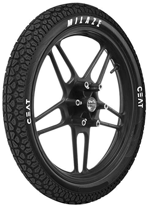 Ceat Milaze 3.00-18 52P Tube-Type Bike Tyre, Rear (Home Delivery)