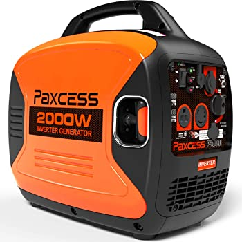 Paxcess P2000i 2000 Watt Gasoline Inverter Generator