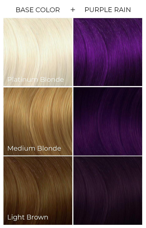 Arctic Fox Vegan and Cruelty-Free Semi-Permanent Hair Color Dye (8 Fl.  Ounces, Purple Rain)