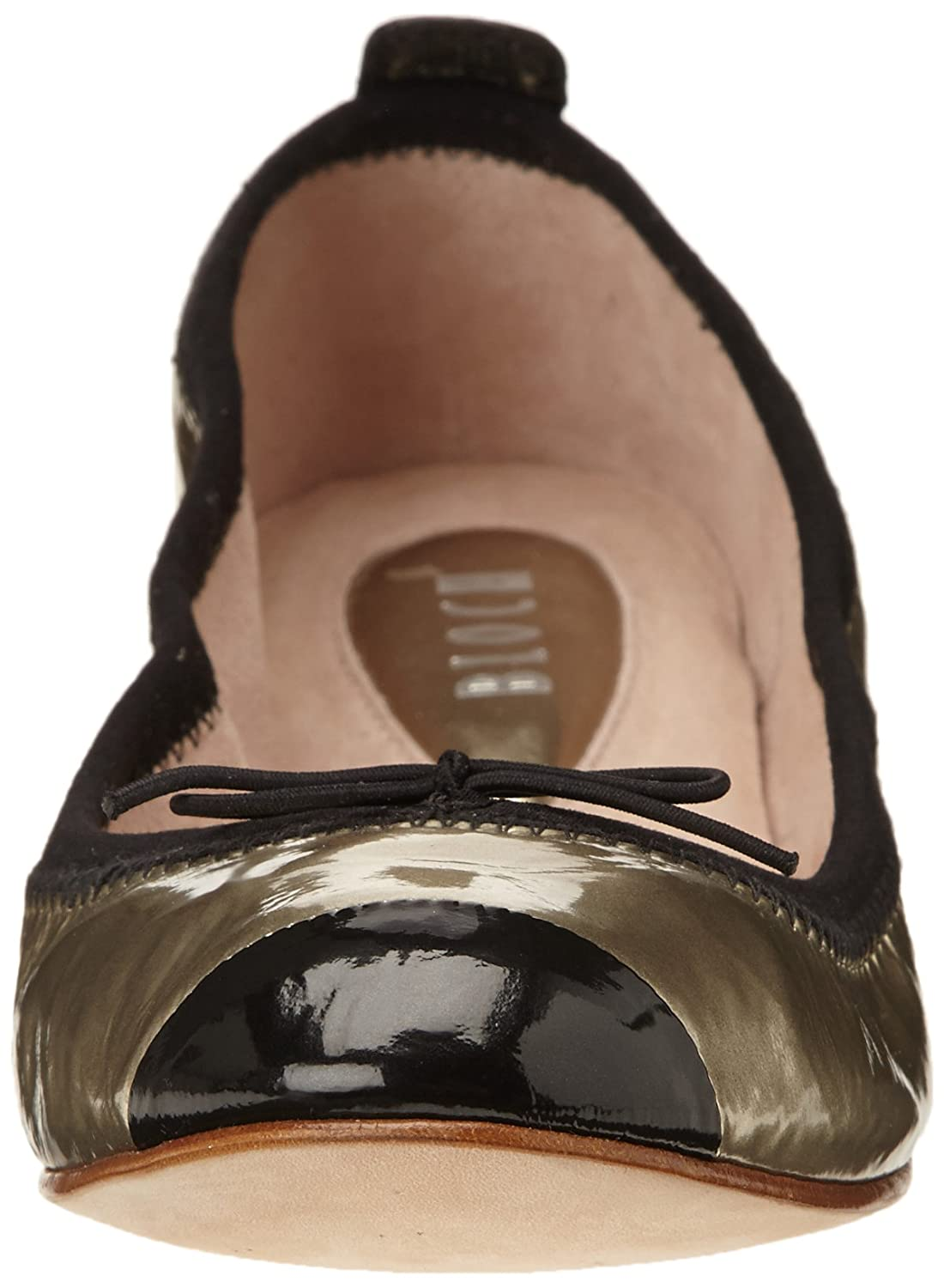 Bloch Luxury, Womens Ankle Strap, Gold (Metallic Platino/Black), 3 UK (36  EU): Amazon.co.uk: Shoes & Bags