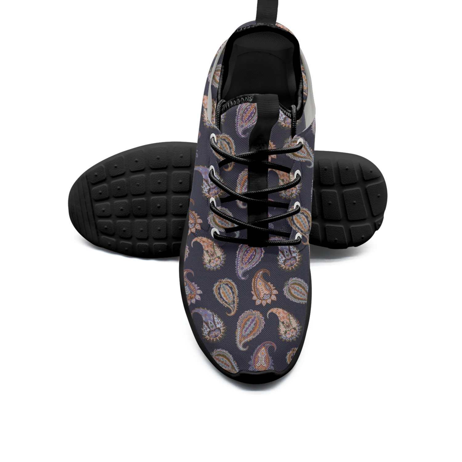 FUFGT Abstract Expressionism Art Mens New Casual Running Shoes Navy Comfortable