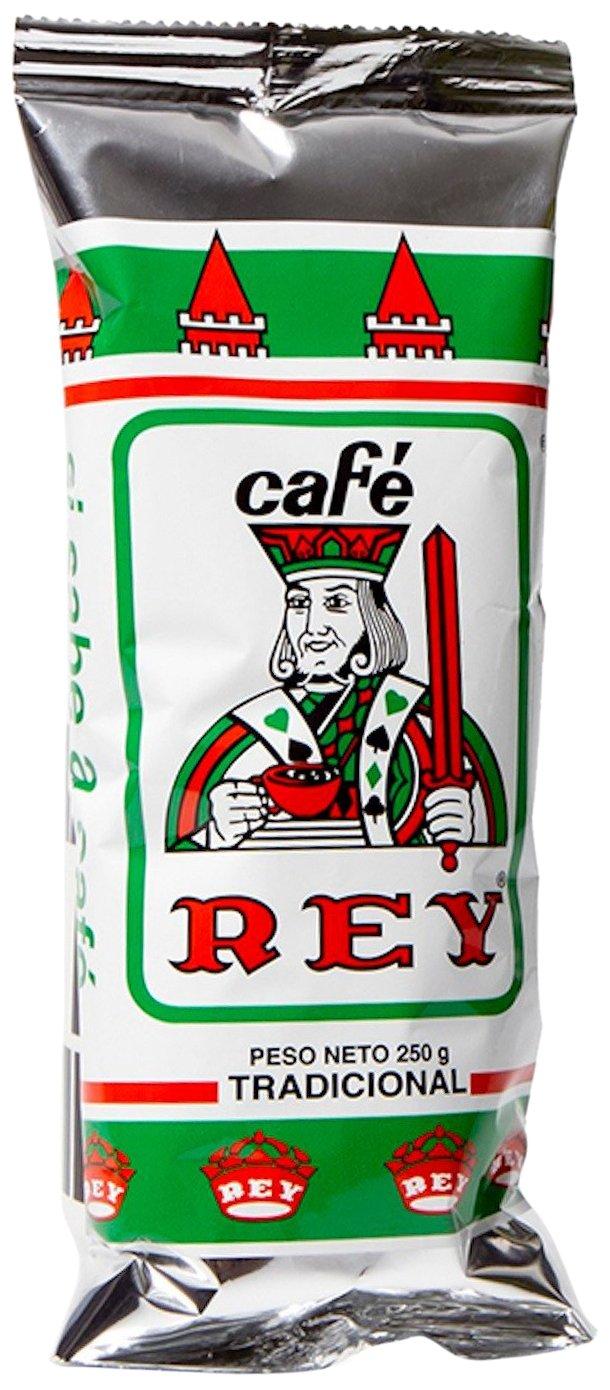 Cafe Rey Tradicional Costa Rica Ground Coffee Green Bag, 250 gram