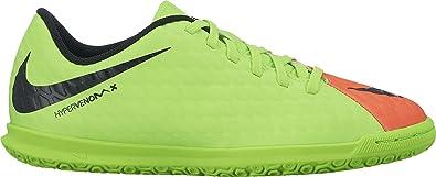 sale retailer 7446a dff45 Nike Unisex-Kinder Jr. Hypervenomx Phade 3 Ic Fußballschuhe, Grün (Elctrc  Green