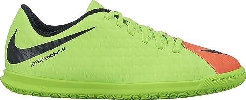 Nike Hypervenomx Phade III IC, Zapatillas de fútbol Sala Unisex para Niños, Verde (