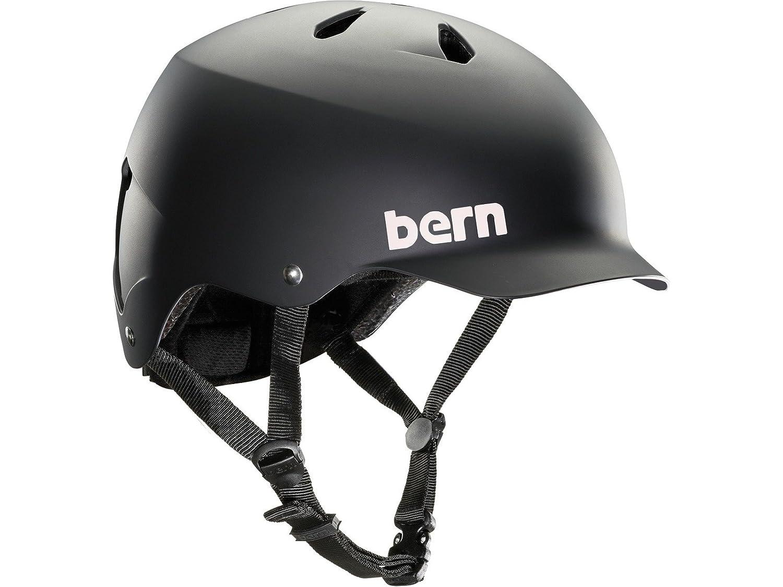 Bern Watts Thin Shell EPS Foam Casco color negro