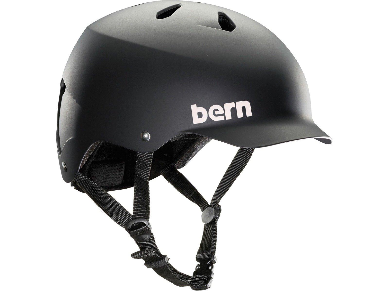 Bern Unlimited Watts EPS Summer Helmet, Matte Black, S/M