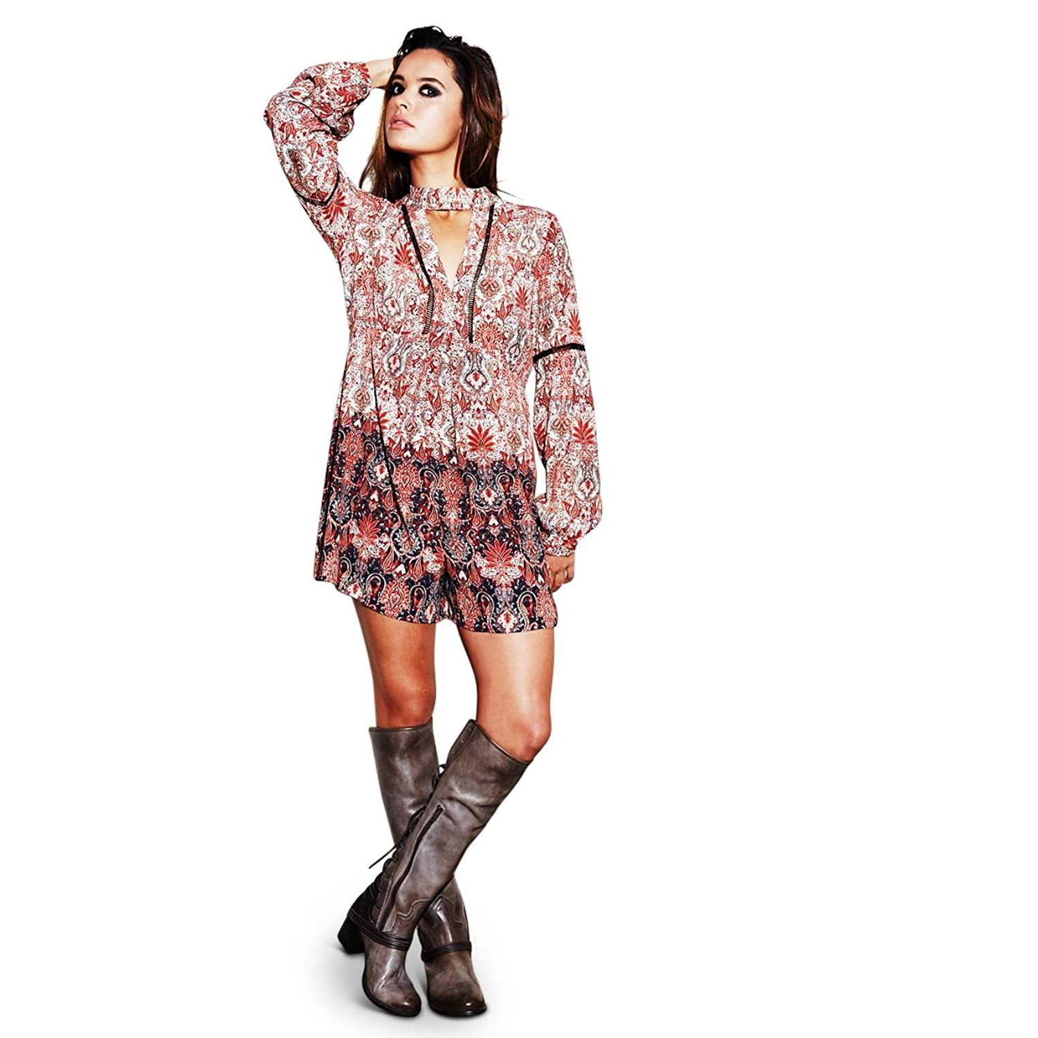 Adelyn Rae Revered' Paisley Printed Romper