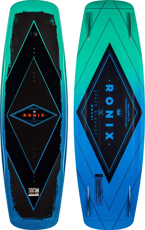 最安価格 Ronix 2017スペースブランケット(メタリックAqua/ブラック) Wakeboard Wakeboard Metallic B01MT80RD9 Metallic Aqua 137cm/Black 137cm, 釜庄:bae3d79d --- svecha37.ru
