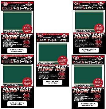 KMC Hyper Mat Verde Fundas para Cartas Coleccionables Tamaño Estándar MTG, Magic, Pokemon - 400 Fundas: Amazon.es: Juguetes y juegos
