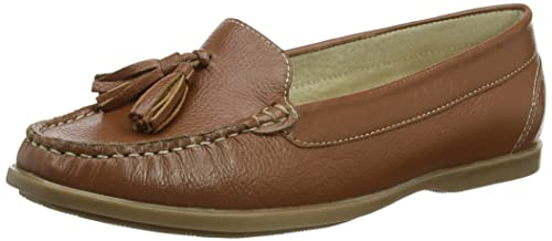 Hush Puppies Aalia Grace, Mocasines para Mujer, Marrón (Tan), 36 EU