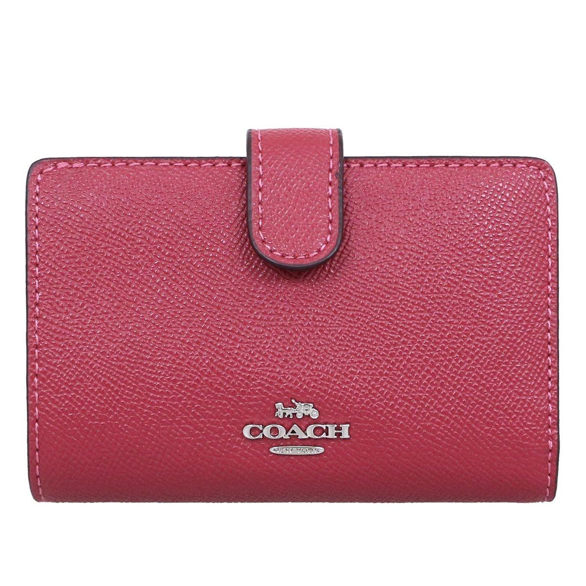 [コーチ] 二つ折り財布  COACH F11484 IMBLK [並行輸入品] B07DS9CFSV ホットピンク ホットピンク