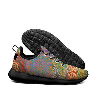 DDIIEEDD Tartán Colorido, Zapatos de Mujer a Cuadros, Tenis de Tienda, Mocasines para
