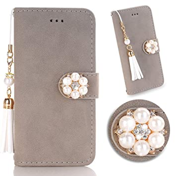 ac9566abf9 Amazon | iPhone 8/7/6/6sスマホケース 手帳型 かわいい女性人気 携帯 ...