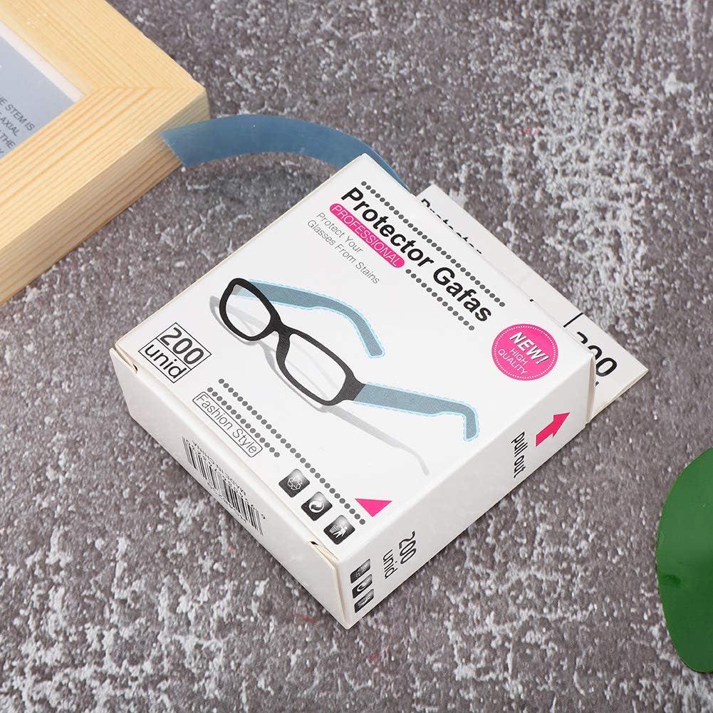 200 Piezas Gafas Desechables Mangas de Pierna Cubierta Peluquer/ía Protector para Colorear El Cabello Accesorio Home Salon Spa