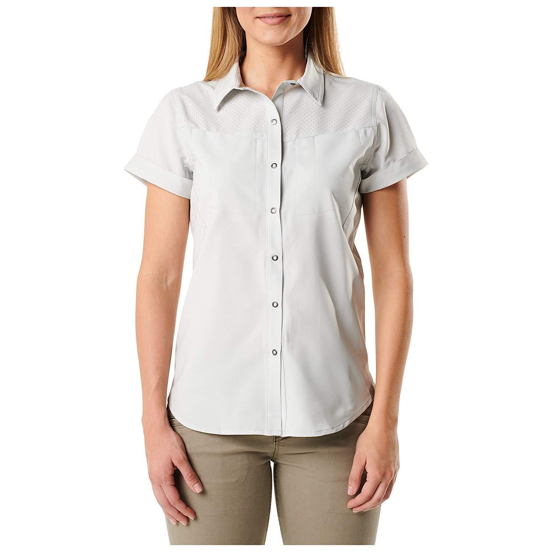 5.11 Tactical Women's Freedom Flex Short Sleeve Polo Shirt Moisture-Wicking Style 61311