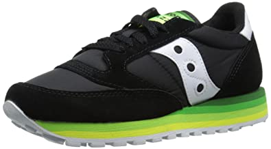 Womens Shoes Saucony Originals Jazz O Rainbow Black/Green