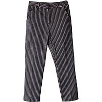 Baosity Pantalón De Chef Profesional Pantalones De Trabajo