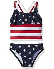 ef60e54c2d401 The Children's Place Girls' Tankini Swim Suit