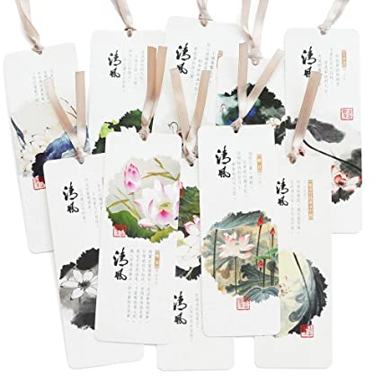 Amazoncom Bookmarks 0f Chinese Classical Poetry And Lotus