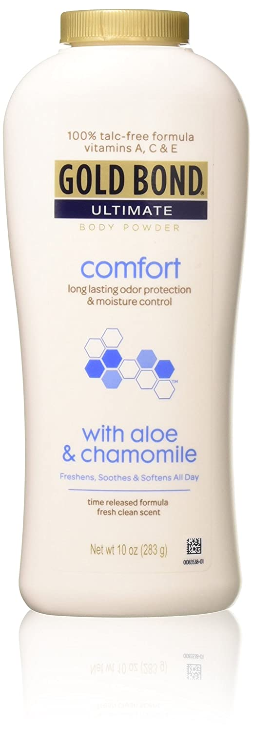 Gold Bond Ult Pwdd Size 10 Oz Gold Bond Ultimate Comfort Body Powder With Aloe (pack of 5) CHATTEM INC