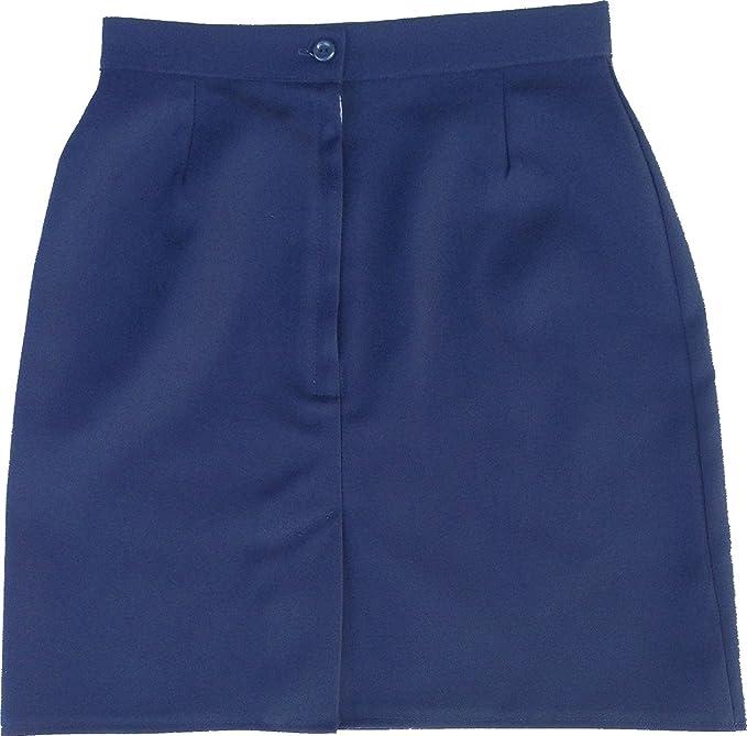 Uniforme Escolar Niña Plain falda solo Uniforme® UK Azul azul ...