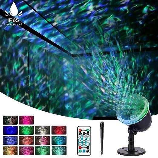 Amazon.com: Luces de Halloween de la onda del agua de la luz ...
