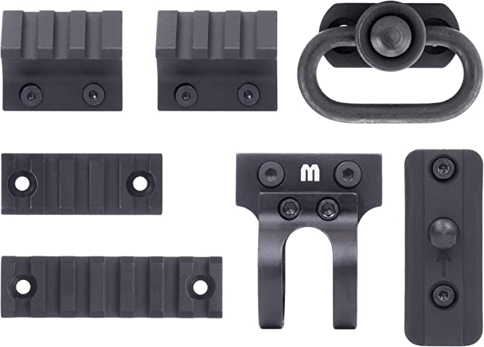 Monstrum Tactical Keymod Rail and Accessory Value Pack