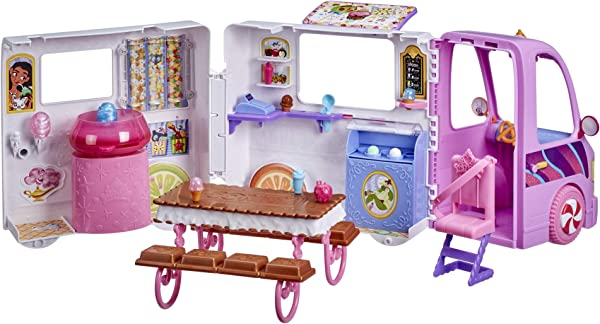 Disney Princess Comfy Squad Sweet Treats Truck playset toy for kids