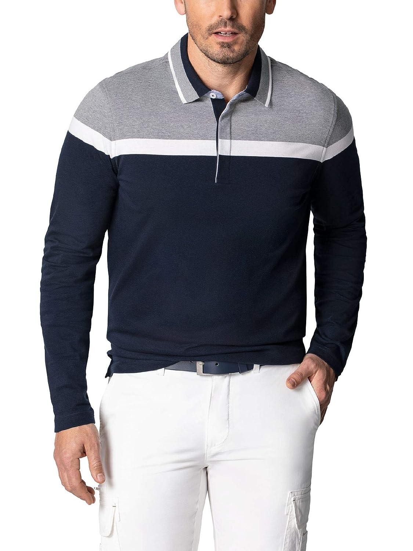 Walbusch Herren Langarm-Polo Langarm-Polo Langarm-Polo TriFarbee Mehrfarbig B07P74XPZ7 Poloshirts Bevorzugte Boutique 8b170e