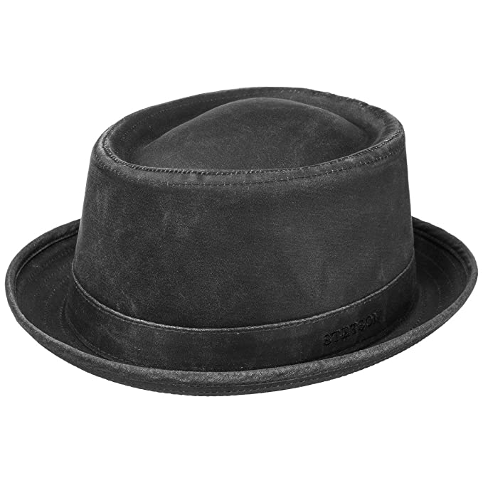 los angeles great prices stable quality Stetson Women s/Men s Odenton Pork Pie hat Cotton Pork Pie hat -  Water-Repellent Fedora with Sun Protection - Men s Summer/Winter hat -  Musician s hat