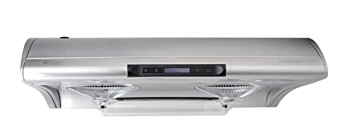 Chef Range Hood C400 30Inch Slim Under Cabinet Kitchen Extractor