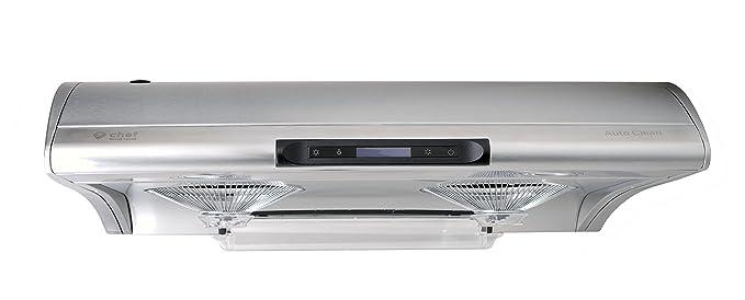 Chef Range Hood 30u201d C400 | TASTEMAKER | Stainless Steel Slim Under Cabinet  Range Hood