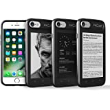 """Oaxis Inkcase i7, 4.3"""" E Ink eReader for iPhone 7, Unique Smart Bluetooth Second Screen Case for iPhone 7 with Drop resistant , eBook / News / Pocket / Note"""