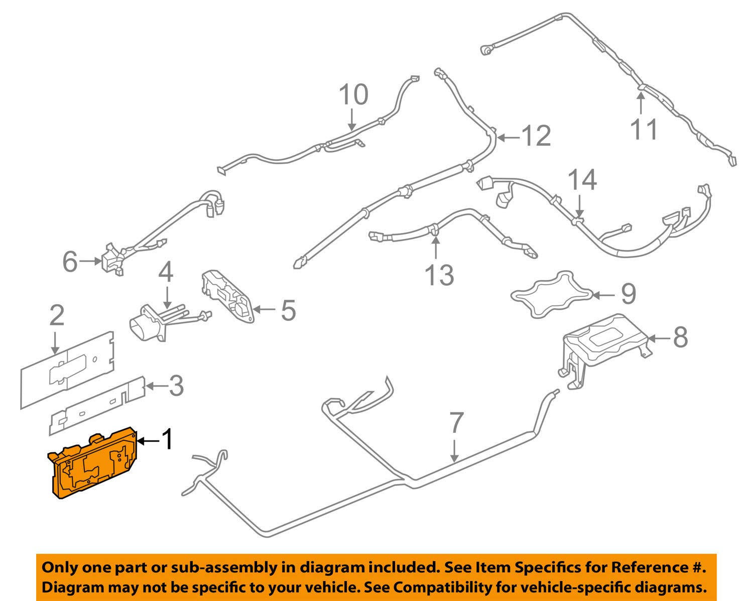Nissan 294A1-3NF0A Junction Block
