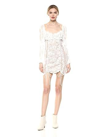 e44384ce1e52 Amazon.com: For Love & Lemons Women's Monroe Mini Dress: Clothing