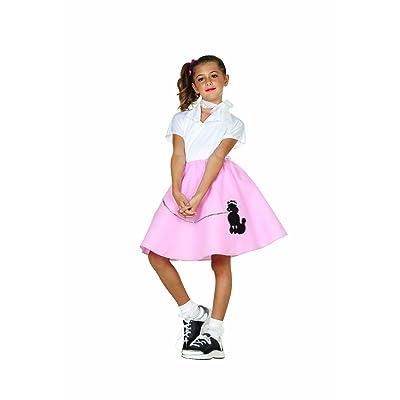 Black Poodle Skirt Costume for Kids: Toys & Games [5Bkhe1105519]
