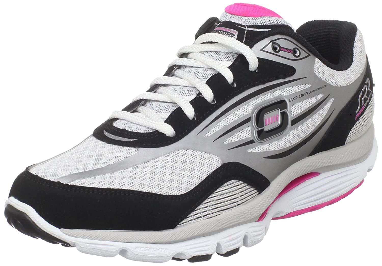 Skechers Womens Prospeed S R R BlackWhite: Amazon.co.uk