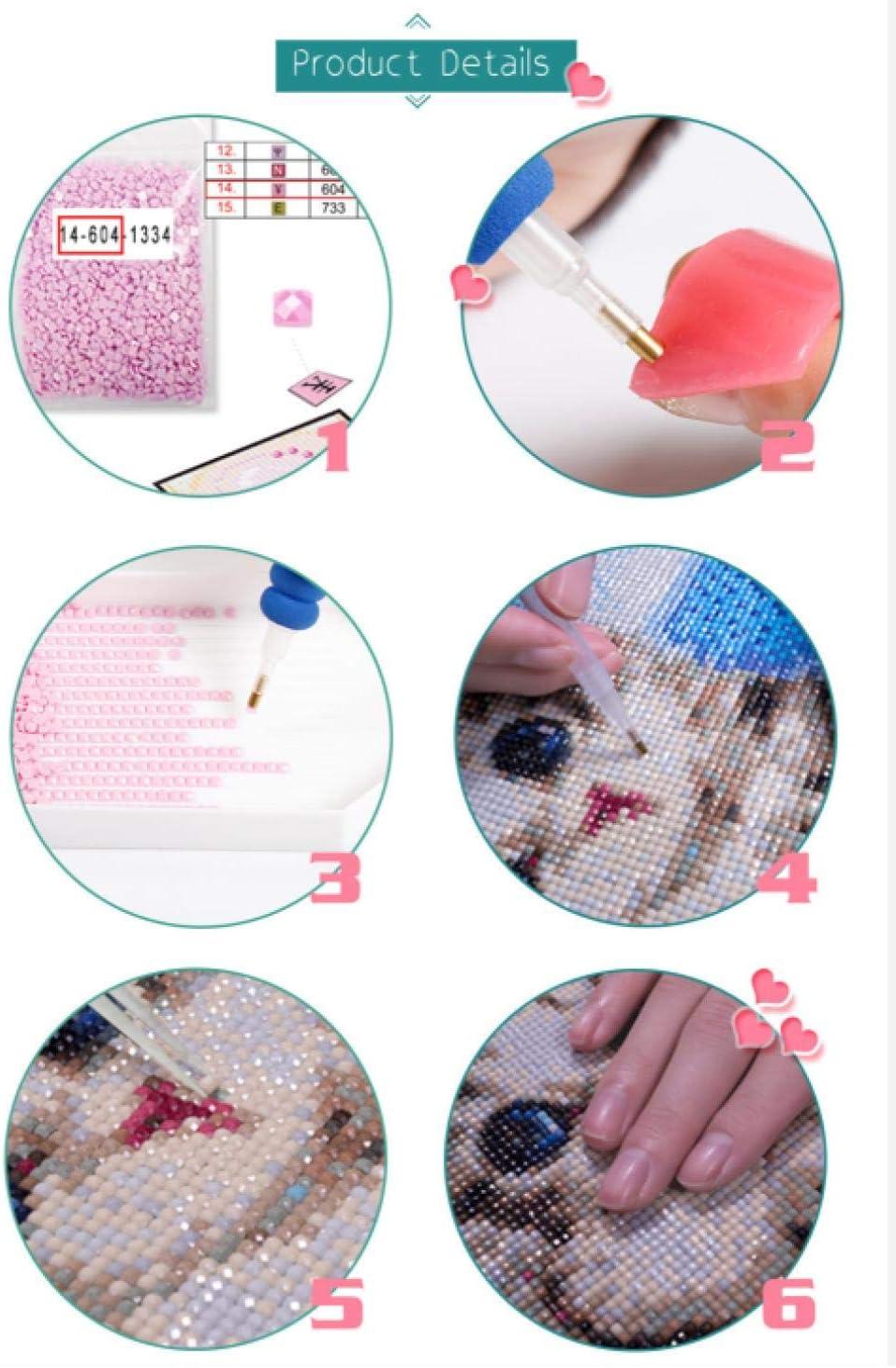 Xiyuyuan 5D DIY Diamond Painting Marilyn Monroe Cross Stitch Home Decoration Gift