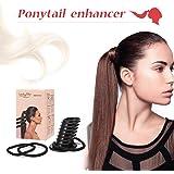 Strumento Per Lo Styling Dei Capelli, Y.F.M. Coda di cavallo Pony Bouffant Hairstyle -Create il perfetto pony Hair Bun- Styling Braid Support Tool Ciambella Shape Hair Bun