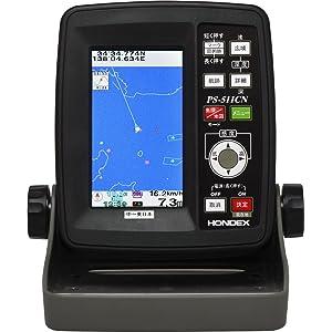 HONDEX(ホンデックス) 4.3型ワイドカラー液晶GPS内蔵ポータブル魚探(中~東日本) PS-511CN-E