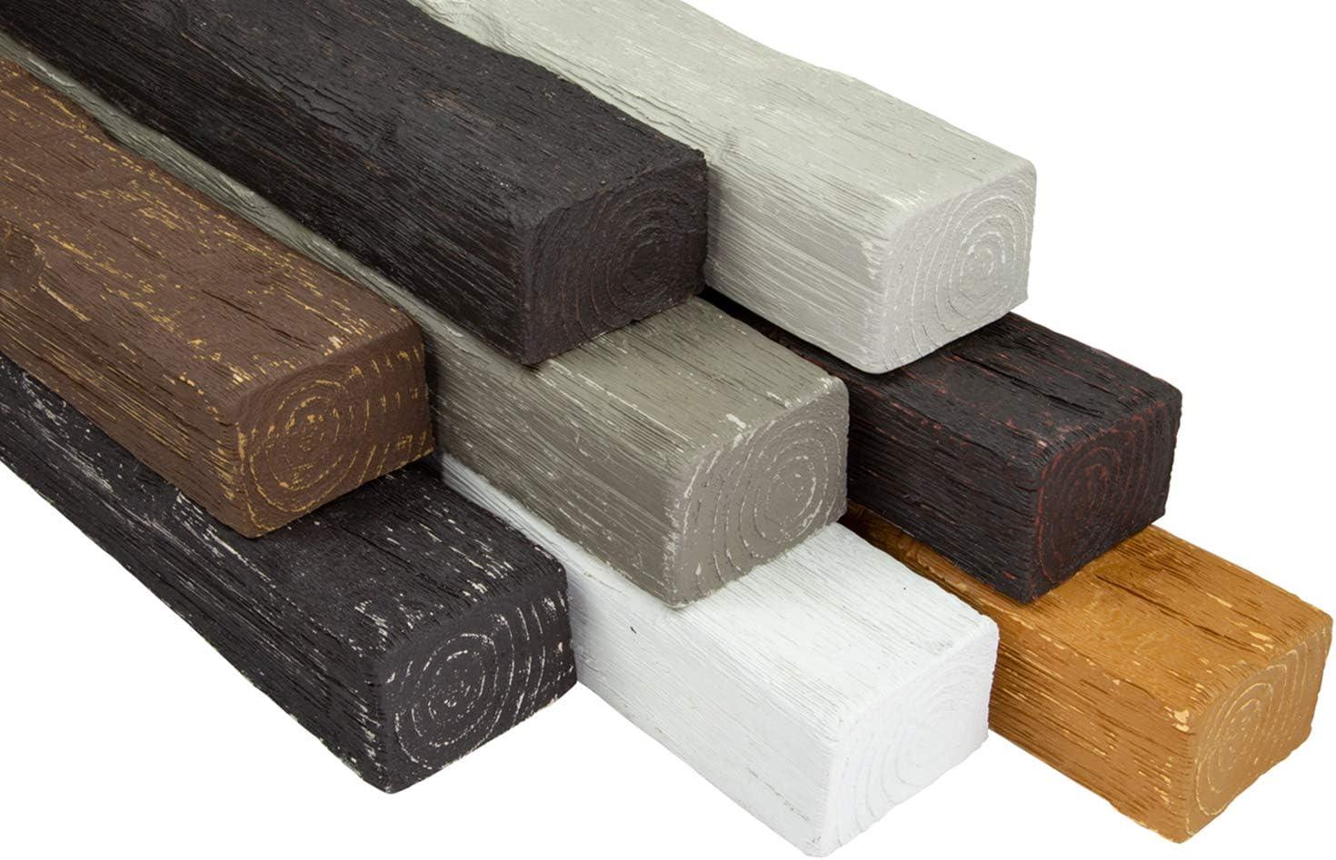 2 metros de barra de poliuretano de aspecto de madera Cosca de 90 x 60 mm DB90.: Amazon.es: Bricolaje y herramientas