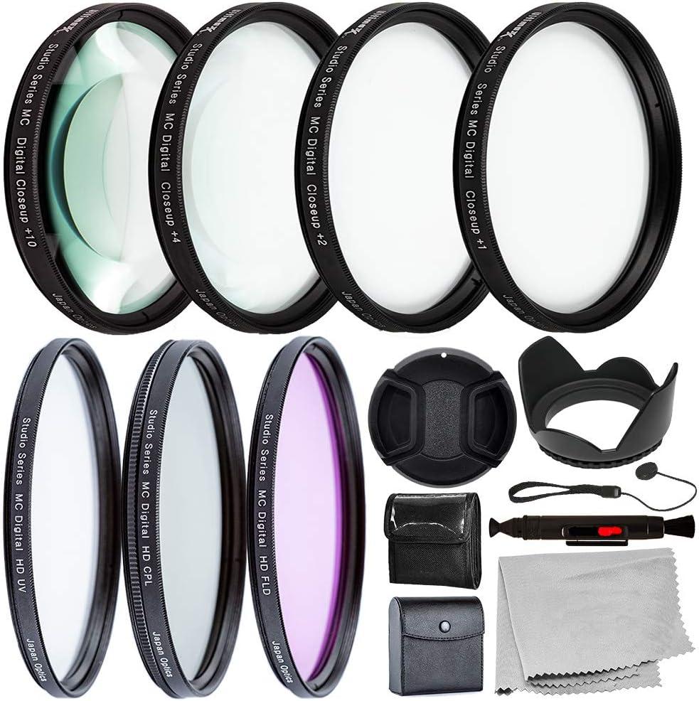 Juego de filtros UV CPL FLD + Juego de primeros planos 82mm