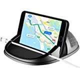 Amuoc Car Mount, Car Phone Mount Silicone Car Pad Mat for Various Dashboards, Anti-Slip Desk Phone Stand Compatible with…