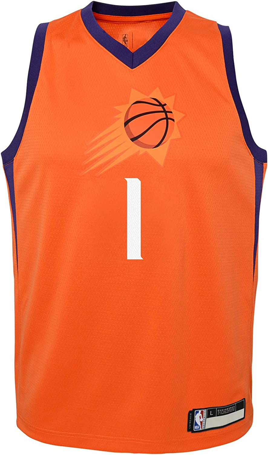 NBA Kids 4-7 Official Name and Number Replica Home Alternate Road Player Jersey