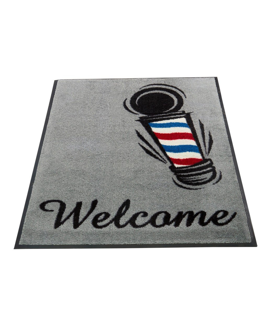 Barber Shop Welcome Mat by BR Beauty