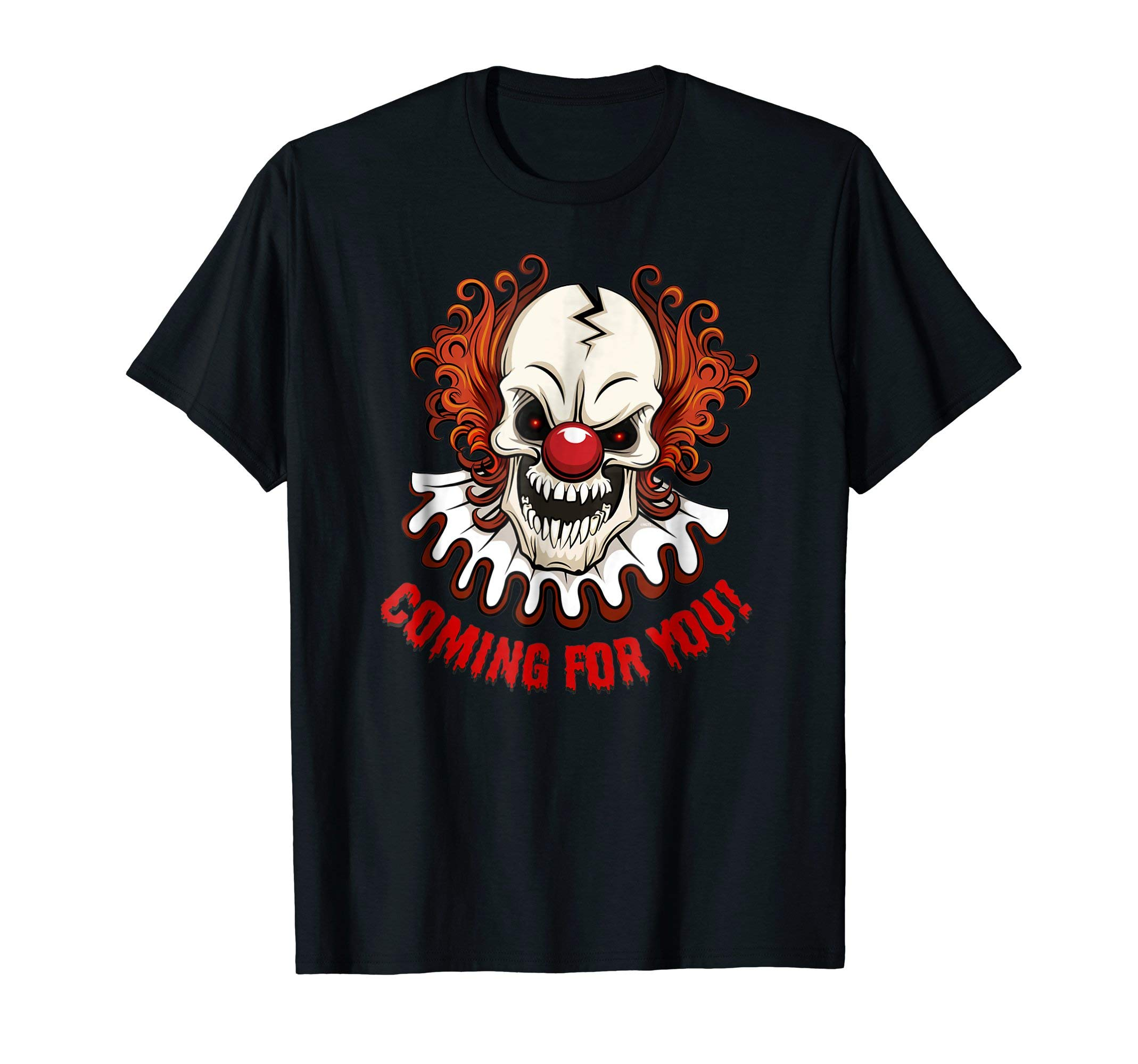Scary-Clown-Creepy-Halloween-Shirt-Gifts-T-Shirt-Tee