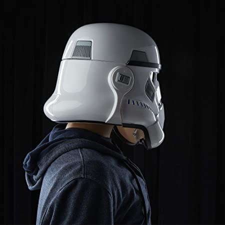 ELETTRONICA voce CHANGER CASCO Imperial Stormtrooper action figure statue