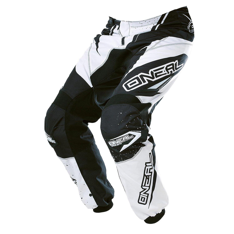 O& 039;Neal Element Racewear Kinder Hose Schwarz Weiß Youth Motocross MX DH Offroad, 0128-12